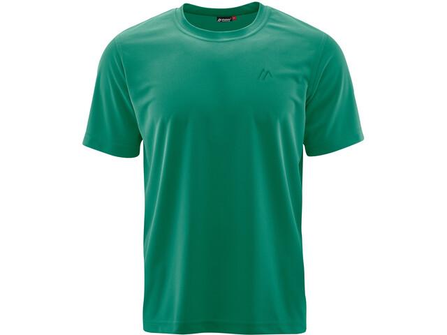 Maier Sports Walter SS Shirt Men ultramarine green
